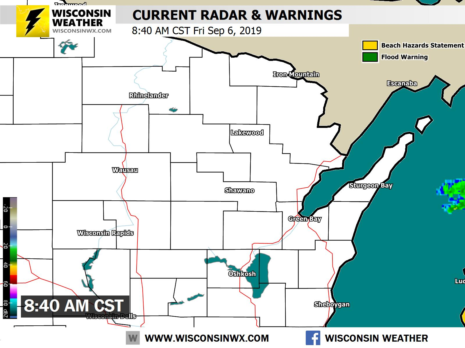 Chain O Lakes Wi 54981 7 Day Weather Forecast Wisconsin Weather